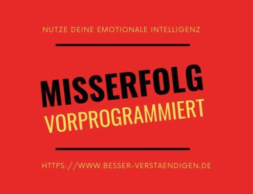 Failure inevitable! Misserfolg vorprogrammiert!
